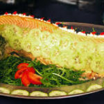 Whole Poached Salmon