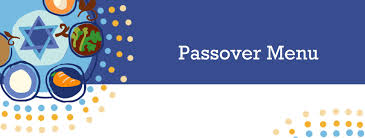 Pesach Menu Logo